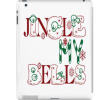 Jingle My Bells (white) iPad Case/Skin