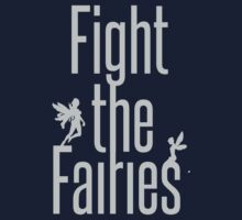fight the fairies by Octopusiscool