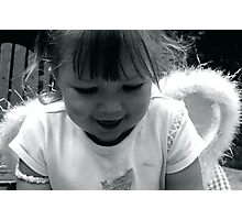 a little angel? Photographic Print
