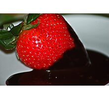 strawberry delight Photographic Print