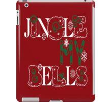 Jingle My Bells (red) iPad Case/Skin