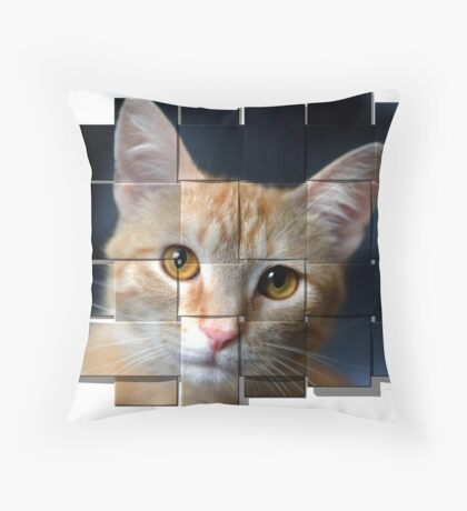 My Girl Libby Throw Pillow