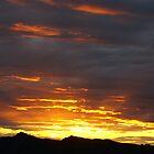 Port Hills, Christchurch. Sunset by avionz