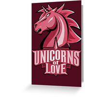 Unicorns of Love (Best quality ever) Greeting Card