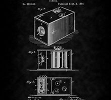 Eastman's 1888 Camera Patent Art_BK by Barry  Jones