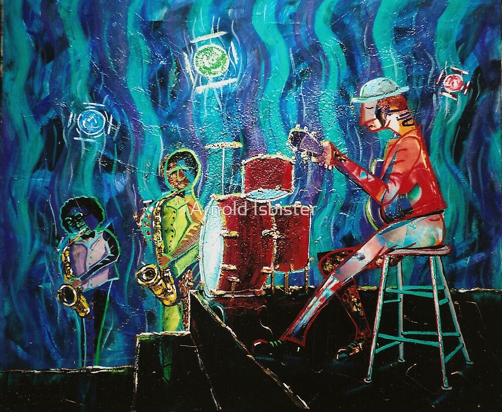 Jam'n Da Blues by Arnold Isbister