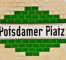 Berlin, Potsdamer Platz, Subway by Andrew Reid Wildman