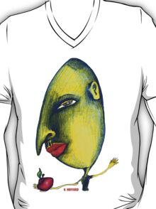 Man with Apple T-Shirt