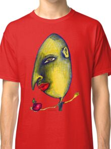 Man with Apple Classic T-Shirt