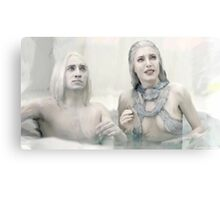 Stahma and Alak React to Dataks Arrival Home Canvas Print