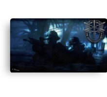 Special Forces Team Canvas Print