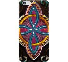 Wood Celtic Cross iPhone Case/Skin