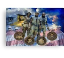 A Tribute to All Warriors Canvas Print