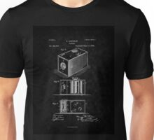 Eastman's 1888 Camera Patent Art_BK Unisex T-Shirt