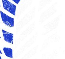 Attack On Titan - Survey Corps Logo (Blue Grunge v3) Sticker