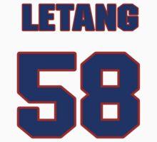 National Hockey player Kris Letang jersey 58 by imsport