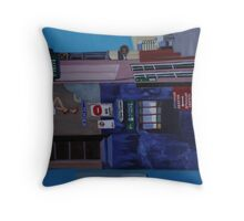 Oliver Lane (painting) Throw Pillow