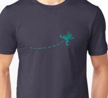 Aqua Frog Jumping Unisex T-Shirt