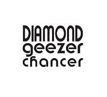 Diamond Geezer Chancer by Marc de Vaux