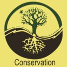 Conservation Tree Symbol brown green by Ryan Houston