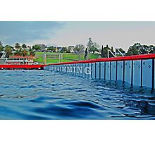 Lap Swimming Photographic Print