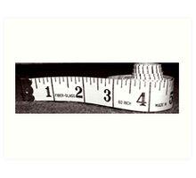 Centimeters Art Print