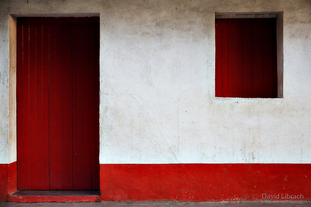 Red Door by David Librach - DL Photography -