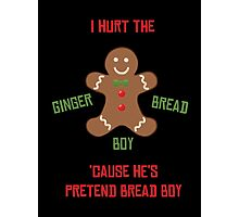 Pretend-Bread Boy [Carl Poppa] Photographic Print