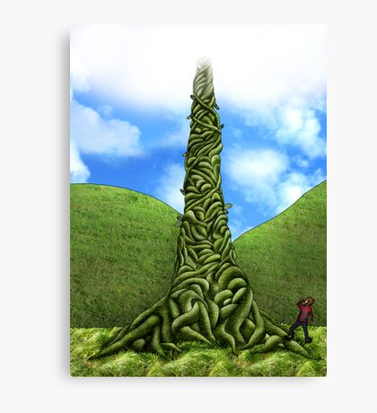 jack and the beanstalk Canvas Print