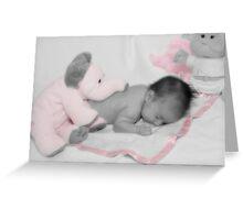 Pink Dreams Greeting Card