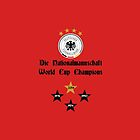 Germany World Cup Champions by refreshdesign