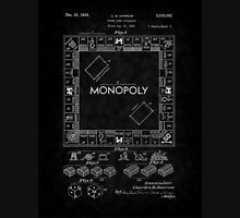 1935 Monopoly Board Game Patent-BK T-Shirt