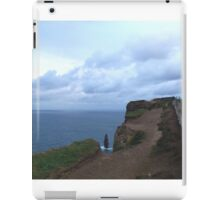 Indent at the Cliffs of Moher, Co. Kerry, Ireland iPad Case/Skin