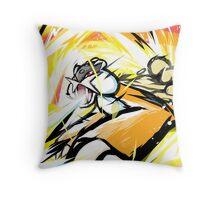 Shiny Raikou   Zap Cannon Throw Pillow