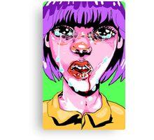 glitter tears Canvas Print
