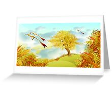 freely  Greeting Card