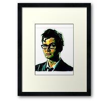 The Doctor Is Tennant Framed Print