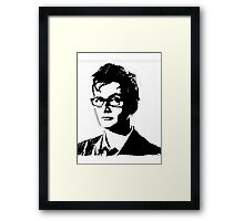 David Tennant - Doctor Who Framed Print