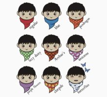 Merlin's Many Scarves Kids Tee