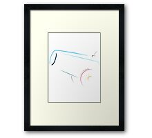 Party Cannon Framed Print