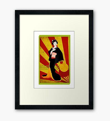 Modern Geisha Framed Print