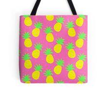 Pink Prickly Pineapples Tote Bag