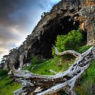 Limestone Coast Cave by Robert Mullner