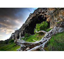 Limestone Coast Cave Photographic Print