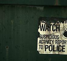 Suspicious Activity by Jenn  Dixon