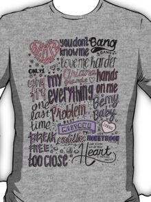 my everything collage COLORED T-Shirt