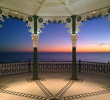 Bandstand Sunset by Steve Churchill
