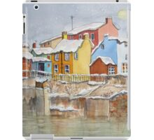 Snow on the Rooftops iPad Case/Skin