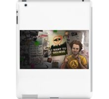 half life 3- I want to believe! iPad Case/Skin