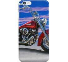 2000 Harley Davidson 'Soft Tail' Motorcycle iPhone Case/Skin